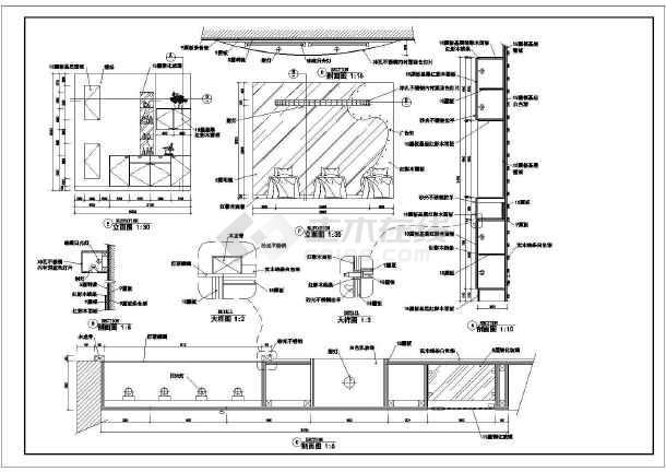 医院及病房电气设备施工方案总图纸-图3