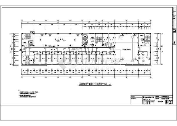电力系统设计方案及施工全套CAD平面图-图1