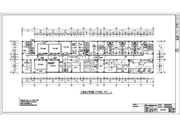 电力系统设计方案及施工全套CAD平面图-图2