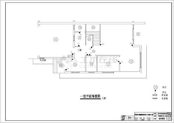 某16.3x15.8米别墅详细设计图-图3