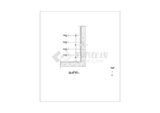 中餐厅建筑施工cad全套方案设计图