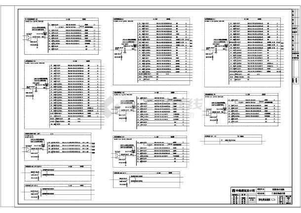 高低压配电系统施工方案及设计全套图纸-图1