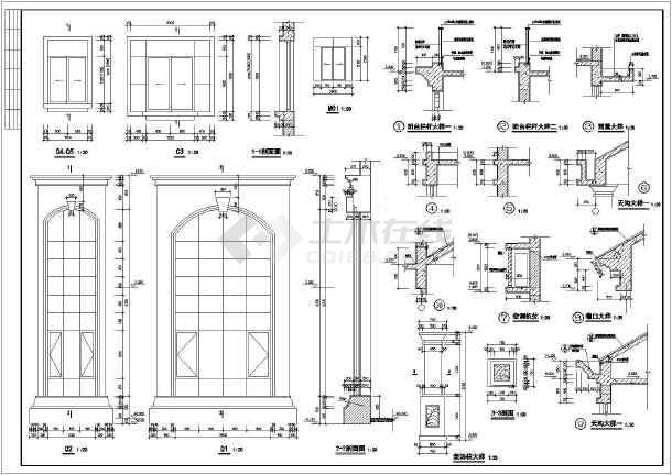 某15.1x16.3米别墅设计图-图1