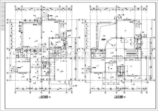 某15.1x16.3米别墅设计图-图2