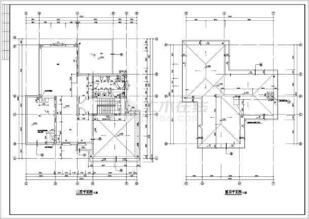 某15.1x16.3米别墅设计图-图3
