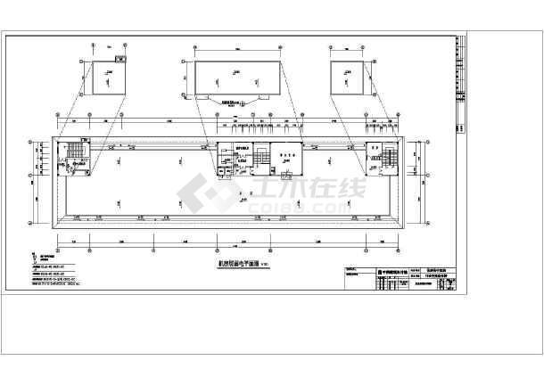 弱电平面系统及施工方案设计总体图-图1