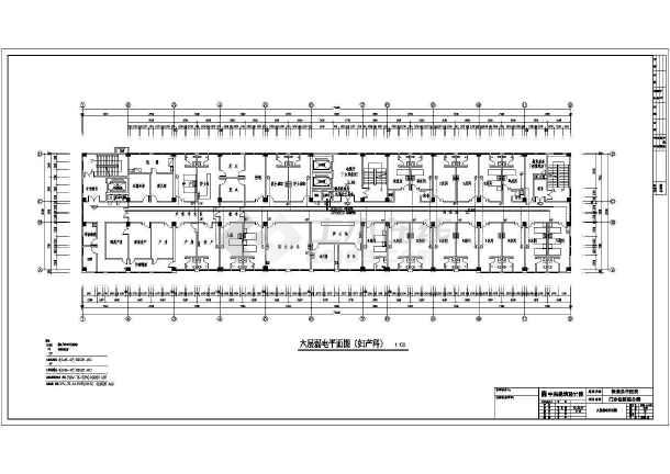 弱电平面系统及施工方案设计总体图-图3