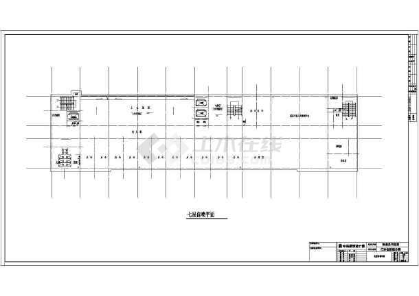 沙龙365及管道施工总体方案平面设计-图2