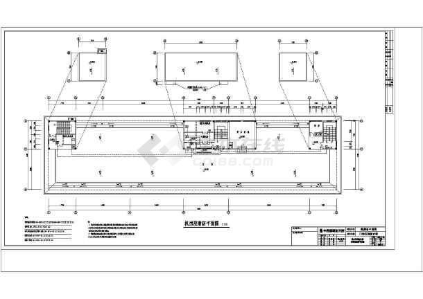 消防平面以及消防通道设计平面设计图-图1
