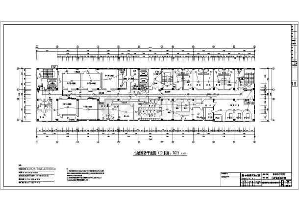 消防平面以及消防通道设计平面设计图-图2