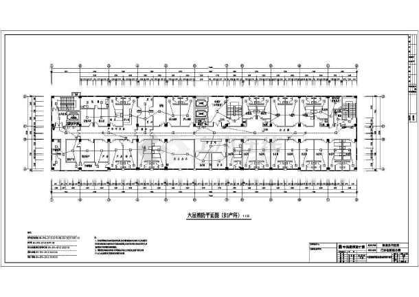 消防平面以及消防通道设计平面设计图-图3
