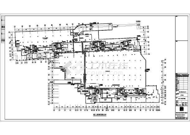 长沙某小区电气设计cad施工图纸 -图1
