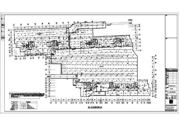 长沙某小区电气设计cad施工图纸 -图2