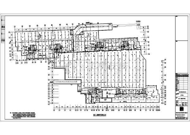 长沙某小区电气设计cad施工图纸 -图3