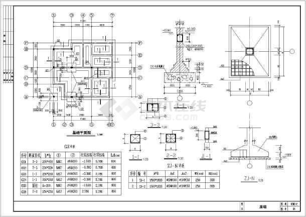 某11.64x10.74米新型小别墅建筑平面图-图2