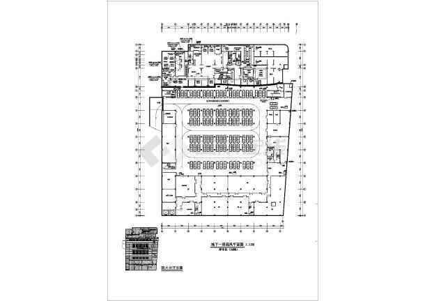 石家庄银座大厦商场整套空调设计cad施工图纸素材-图2