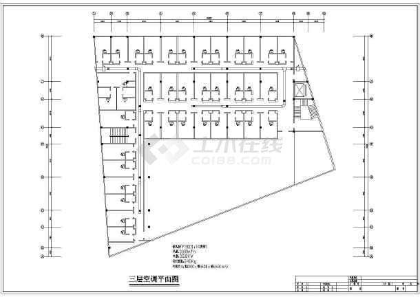星级大酒店空调系统cad施工设计图案例-图2