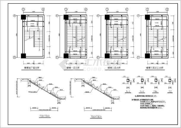 某地区大型豪华宾馆高层建筑设计图-图2