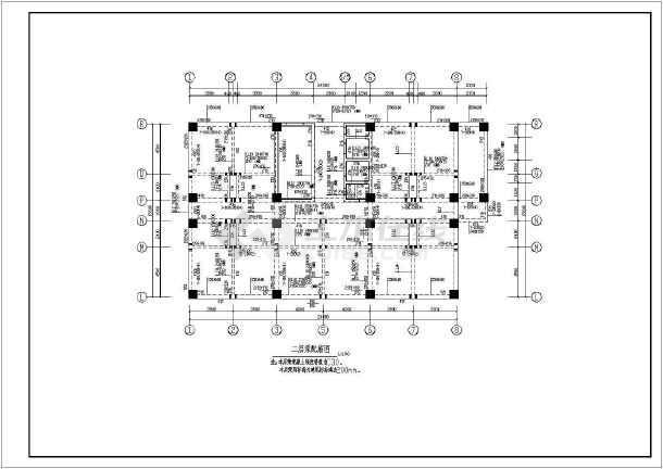 某地区大型豪华宾馆高层建筑设计图-图3
