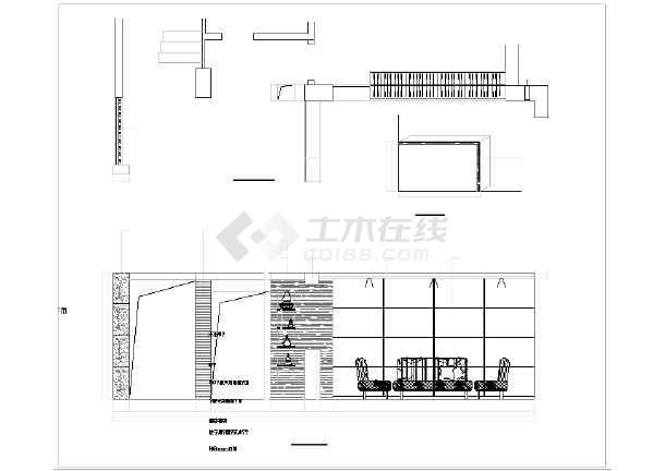 某梦园别墅装修设计施工图(全套)-图2