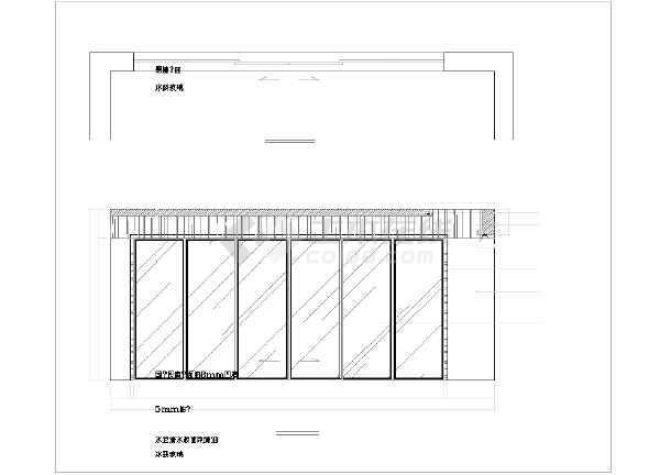 某梦园别墅装修设计施工图(全套)-图3
