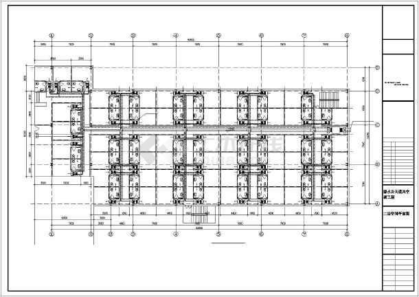 某建筑通风空调设计cad施工图(全套)-图1