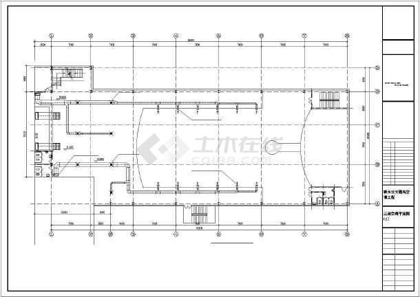 某建筑通风空调设计cad施工图(全套)-图2