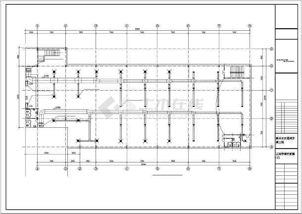 某建筑通风空调设计cad施工图(全套)-图3