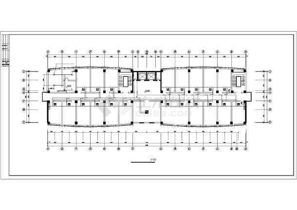 某单位办公楼VRV空调设计施工cad图-图1