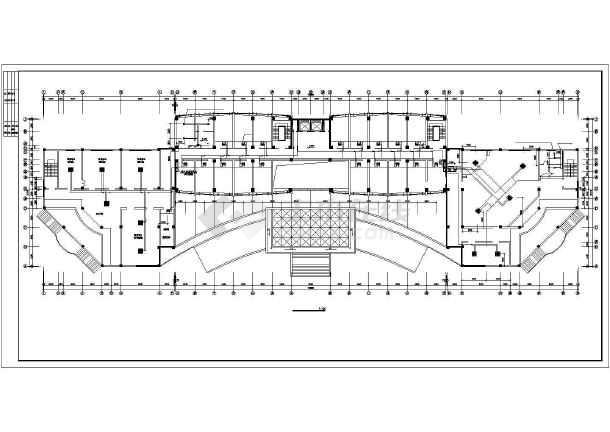 某单位办公楼VRV空调设计施工cad图-图3