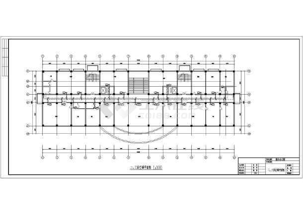 某综合办公楼空调设计施工cad图-图2