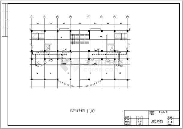 某综合办公楼空调设计施工cad图-图3