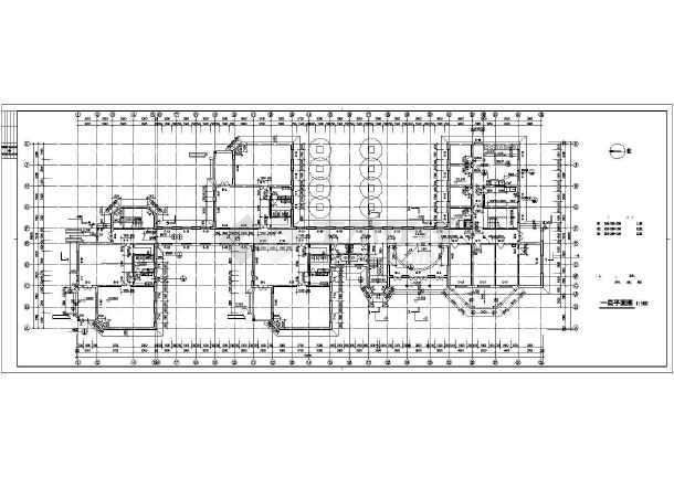 经典幼儿园建筑施工图纸(含设计说明)-图1