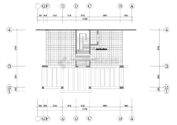 某市区精品别墅装修设计图(全套)-图1