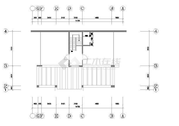 某市区精品别墅装修设计图(全套)-图2