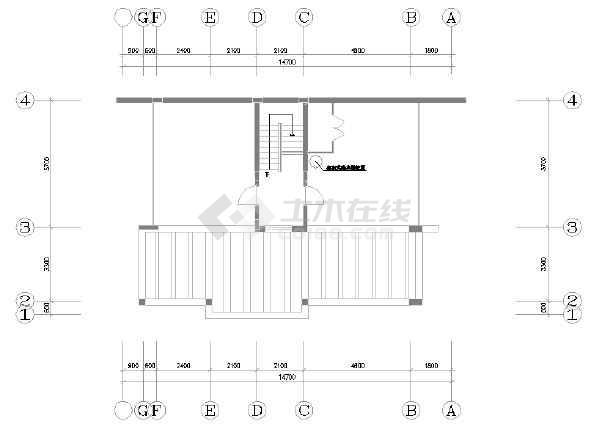 某市区精品别墅装修设计图(全套)-图3
