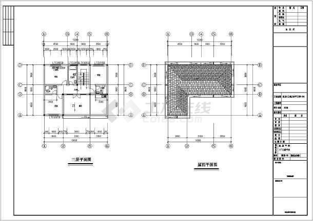 某12.2x9.8米别墅建筑结构施工图-图2