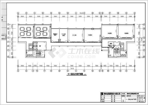 某医学院医教科技大楼电气设计方案全套CAD图纸-图3