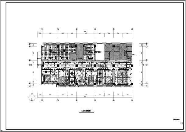 某银行沙龙365专业精装修设计图纸-图3