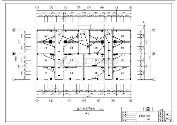 某市高档住宅楼方案v方案电气CAD施工图cad中虚线画怎样图片