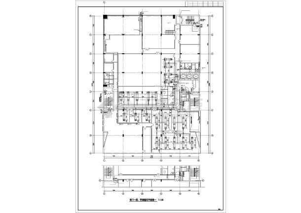 某单位空调系统设计施工cad详图-图1