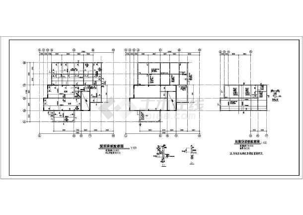 高层剪力墙全套结构设计方案CAD图-图3