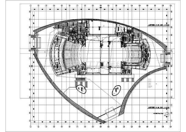 某地区大剧院电气设计cad施工图-图2