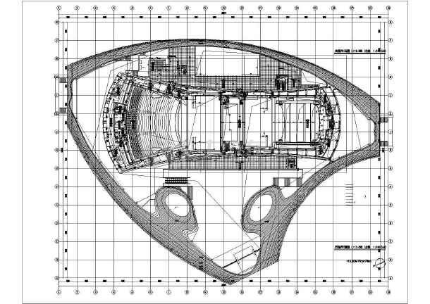 某地区大剧院电气设计cad施工图-图3