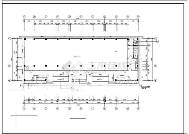 大堡小学教学楼建筑施工图纸(全套)-图2