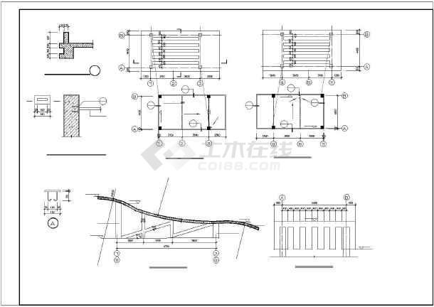 大堡小学教学楼建筑施工图纸(全套)-图3