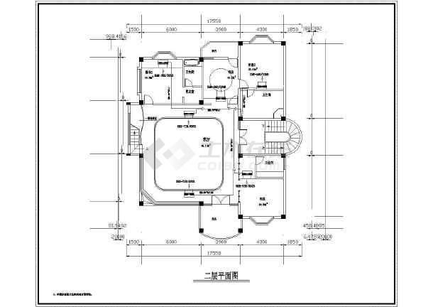 某别墅MRV空调设计cad施工图-图1
