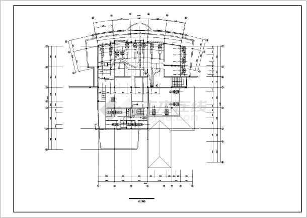 某地区会所空调设计cad施工详图-图2