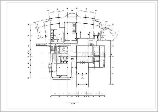 某地区会所空调设计cad施工详图-图3