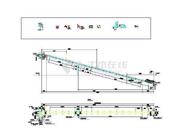 输送带皮带机输送机输送带-图1